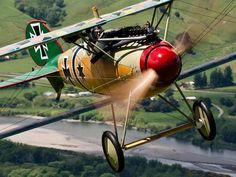 redjeep:  an Albatros D.Va … WW I German Fighter