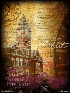 The Auburn Creed is elegantly captured in this college sports art piece. It's a must have for every Auburn fan and is available in paper pri...
