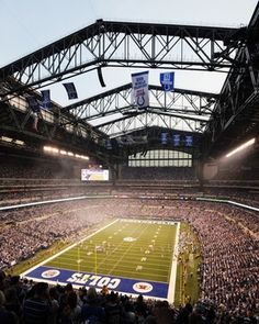 Lucas Oil Stadium Picture at NFL Photo Store. International Convention 2014!!!!