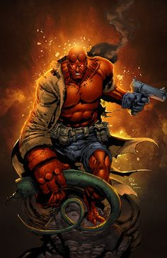 Hellboy by SeanE