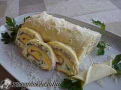 A legjobb Sonkás sajttekercs recept fotóval egyenesen a Receptneked.hu gyűjteményéből. Küldte: Papp Alexandra