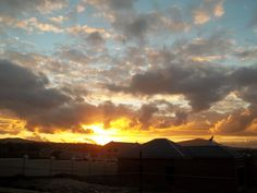 Sunset in Durbanville Cape Town My Happy Place, See Through, Cape Town, Clouds, Celestial, Sunset, Places, Outdoor, Beautiful