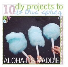 """""""10 diy projects to do this spring"""" by aloha-tip-girls ❤ liked on Polyvore featuring art and maddiemaddstips"""