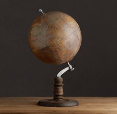1949 French Library Globe