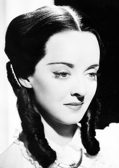 "Bette Davis - in ""Juarez""...In ""Beyond the Forest"" as ""Rosa"" she also wore a dark wig.."