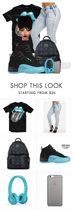 """""""gammablue12s♡♡♡"""" by ballislife ❤ liked on Polyvore featuring Lab, MCM, Retrò and Native Union"""