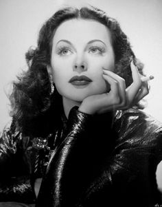 Hedy Lamarr. Those lashes.