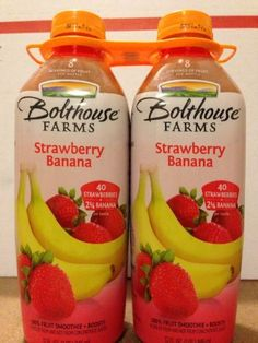 Strawberry Banana Juice Bolthouse Farms Total 62 oz by Bolthouse Farms ...
