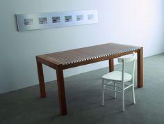 Astor, table - Design: Gaspardo & Graphite Design & StH, 2002 / Cherish, chair - Design: StH, 1994