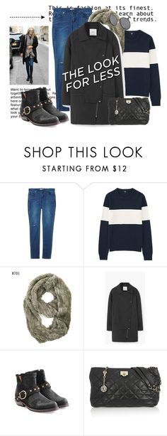 """Get Gigi's Look for Less.."" by hattie4palmerstone ❤ liked on Polyvore featuring Uniqlo, MANGO, Fiorentini + Baker, DKNY, Topshop, women's clothing, women, female, woman and misses"