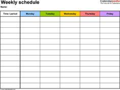 excel class schedule template - Unique Excel Class Schedule Template, free weekly schedule templates for excel 18 templates Free Printable Weekly Calendar, Weekly Calendar Template, Excel Calendar, Print Calendar, Kids Calendar, Calendar Ideas, 2019 Calendar, Printable Calendars, Online Calendar