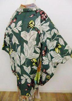 green haori jacket