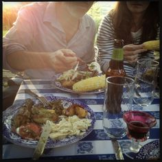 The last of the summer meals at Rose's house @ http://themuddykitchen.com/