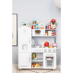 Le Toy Van Playsets Go So Well With KidKraft Vintage White Kitchen