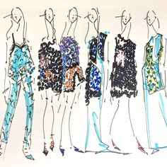 Your guide to thriving as a fashion illustrator, and other things we loved online this week.