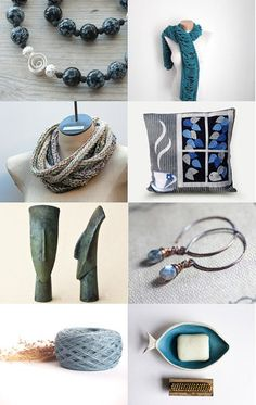 Colour of a Serene Morning by JazzFeathers on Etsy--Pinned with TreasuryPin.com