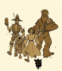 Star Wars / Wizard of Oz