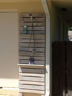 Free Outdoor Shower Wood Plans Diy In 2019 Pinterest