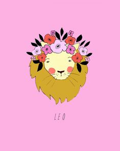 katy-smail-horoscope-illustrations-Leo