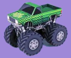 Free Monster Truck Printable Papercrafts | SKGaleana