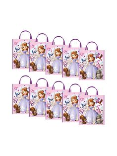 Sofia The First Party Tote Bag - kids and adults Favor Bags & Boxes & Party Favors