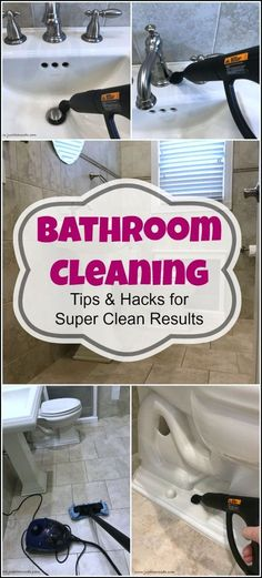 Bathroom cleaning is a dirty job, but someone has to do it. Hopefully, with these bathroom cleaning tips, the chore won't be such a chore. How to clean your bathroom, cleaning bathroom, best way to clean bathroom, clean bathroom, how to clean the bathroom, how to clean bathroom floor, bathroom cleaning hacks, how to clean bathroom sink, bathroom cleaning brush via @justthewoods