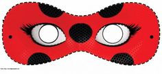 mascaras do miraculous Molde Mascara Ladybug, Miraculous Ladybug Party, Tikki And Plagg, Lady Bob, Disney Princess Birthday Party, Bubble Guppies Birthday, Miraclous Ladybug, Diy Mask, Mask For Kids