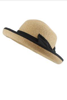 f6237aabdba87 Bowknot Detail Straw Bowler Hat - OASAP.com