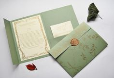 LOTR Wedding Invitation
