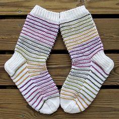 Ravelry: Rim Socks pattern by Niina Laitinen Knitting Patterns Free, Free Knitting, Cute Candles, Knitting Socks, Knit Socks, Ankle Socks, Ravelry, Crochet, Needlework