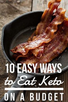Eating Keto on a Budget Keto Diet Plan, Diet Meal Plans, Low Carb Diet, Ffa, Ketogenic Recipes, Ketogenic Diet, Low Carb Recipes, Keto Shopping List, Keto For Beginners