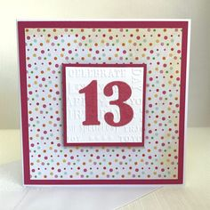 28 Best Age Birthday Cards Images