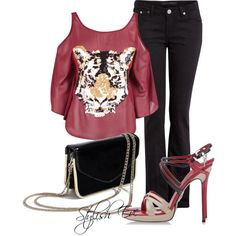 """""""Tiger Outfit !"""" by stylisheve on Polyvore"""