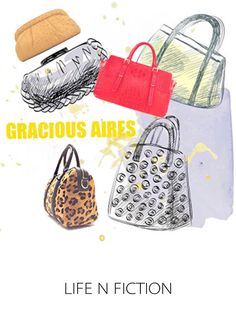 Hi Annie,  Latest Gracious Aires handbags (end of  season) range have reached all outlets. We hope to see you at Gracious Aires: Raffles City #03-03 Plaza Singapura #03-49 or http://www.facebook.com/pages/Gracious-Aires/112657552095102 or  graciousaires.com