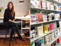 Isabell de Hillerin verrät ihre Lieblingsorte in Berlin. Der Soda Bookstore (r.) gehört dazu