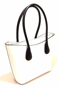 HAND BAG 13 CUOIO NERO Pelle Borsa Mano Tracolla Shopping Donna Primavera 2017
