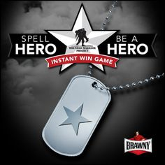 Spell HERO, Be a HERO Instant Win Game - http://www.dealiciousmom.com/spell-hero-be-a-hero-instant-win-game/