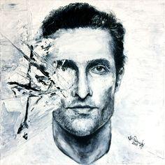 Obrazy na prodej Matthew Mcconaughey, Painting, Art, Painting Art, Paintings, Kunst, Paint, Draw, Art Education