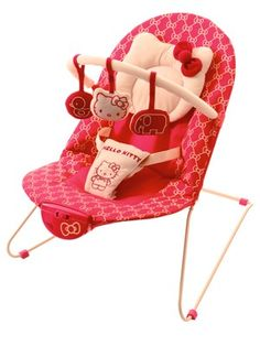Hello Kitty My First Bouncer, OMG they have a pack and play, a stroller and a high chair. Love!