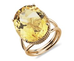 Oval Citrine Ring in 14k Yellow Gold #holidayentertaining would love to wear this on new years!