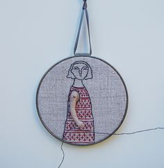 textile art embroderi@mary`sgranddaugther