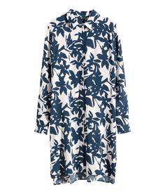 H&M Patterned Shirt Dress, $30; hm.com     - ELLE.com