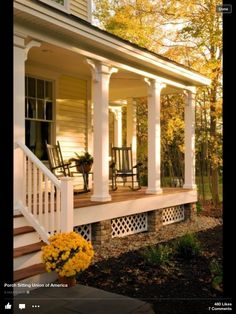 Nice front porch
