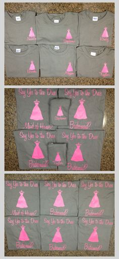 How I asked all my bridesmaids :)  Thanks to Kristy for her great idea!