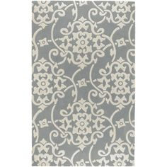 AHhhhhhhhhhhhh! I just scored this rug for $10 from Lowes.com for my dining room !!!!!!  Artistic Weavers Swindon 96-in x 132-in Rectangular Gray/Silver Transitional Area Rug