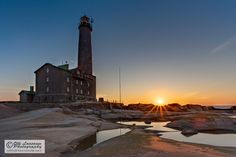 Bengtskär, the highest lighthouse in Scandinavia.