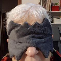 Masque de nuit Incognito cousu par Sonia