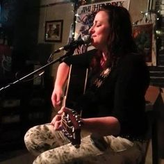 From the Jokers and Gypsies tour: Erisa Rei performing at the Opening Bell Coffee Shop in Dallas. #ErisaRei #DyanneHarvey #JokersandGypsiesTour #Texas
