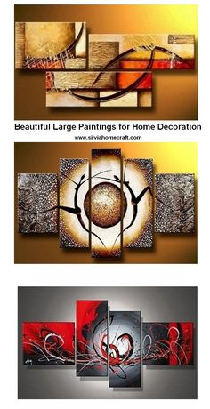 Extra large hand painted art paintings for home decoration. Large wall art, canvas painting for bedroom, dining room and living room, buy art online. #painting #art #wallart #walldecor #buyartonline #abstractart #abstractpainting #canvaspainting #artwork #largepainting 3 Piece Painting, Hand Painting Art, Online Painting, Large Painting, Acrylic Painting Canvas, Art Paintings, Hand Painted Canvas, Buy Art Online, Living Room Paint