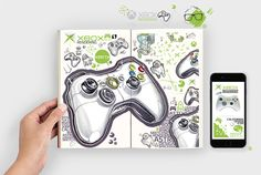 XBOX | sketch rendering on Behance